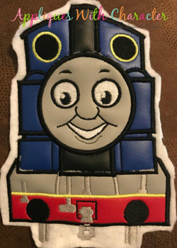 Chuggington Coco Train Applique Design By Appliques With Character