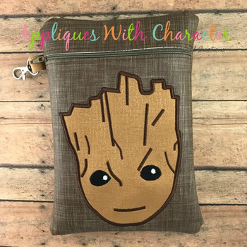 Baby Tree Root Applique Design