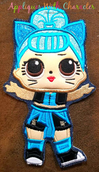 Troublemaker Doll Applique Design