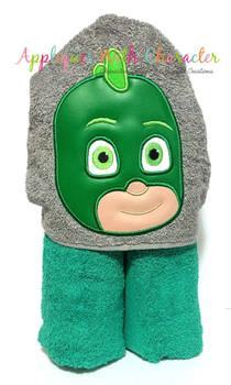 Hero Masked Gekko Applique Design
