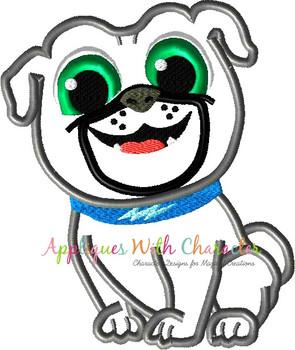Puppy Friends Bingo Applique Design