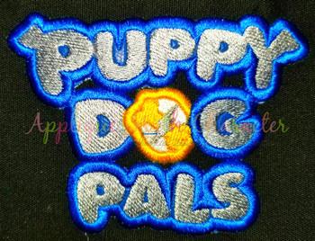 Puppy Friends Logo Applique Design
