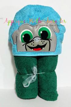 Puppy Friends Bingo Peeker Applique Design
