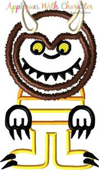 Wild Things Monster & Max Applique Design Set