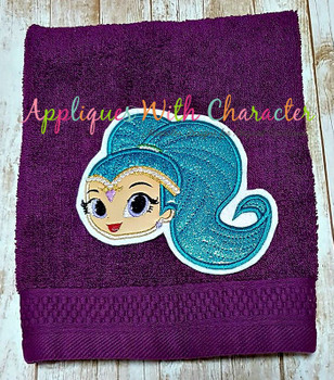 Shine Full Face Applique Design