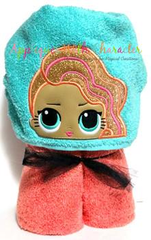 Pearl Surprise Peeker Doll Applique Design