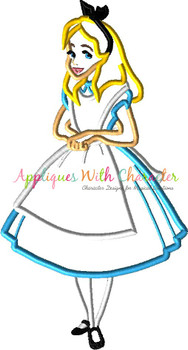 Alyce Applique Design