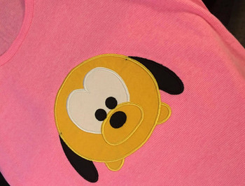 Plooto Tsum Tsum Applique Design