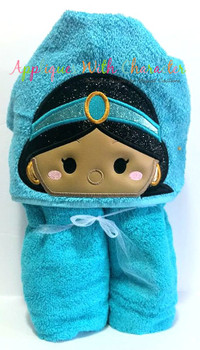 Aladdine Jasmin Tsum Tsum Peeker Applique Design
