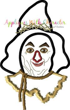 Wizard of Ozz Scarecrow Full Face Applique Design