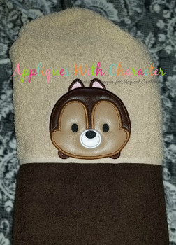 Chip Tsum Tsum Applique Design
