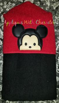 Mr Mouse Tsum Peeker Applique Design