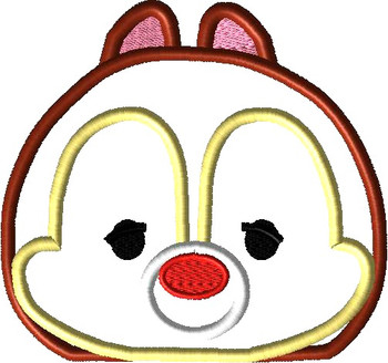 Dale Tsum Peeker Applique Design