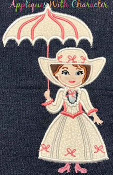 Mary Poppers Full Body Applique Design