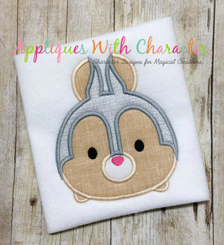 Bambie Thumper Tsum Tsum Applique Design