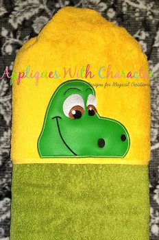 Good Dinosaur Peeker Applique Design