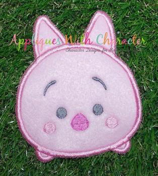 Honey Bear Pig Tsum Applique Design