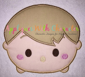 Honey Bear Chris Robin Tsum Applique Design