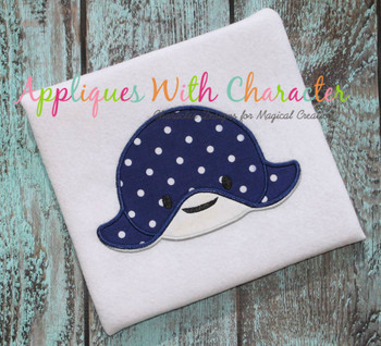 Finding Dorie Stingray Tsum Tsum Applique Design