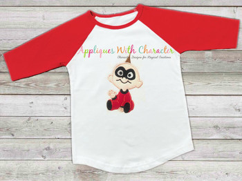 Incredible Baby Applique Design