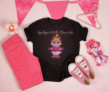 Muppet Baby Miss Piggy Applique Design