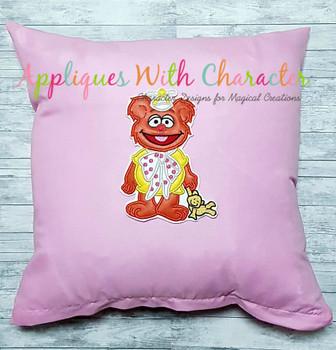 Muppet Baby Fozzie Applique Design