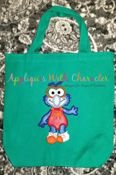 Muppet Baby Gonzo Applique Design