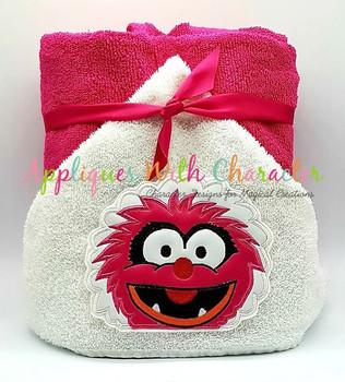 Muppet Baby Animal Peeker Applique Design