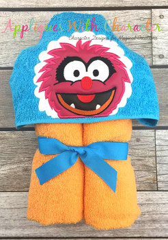Muppet Baby Animal Peeker Applique Design