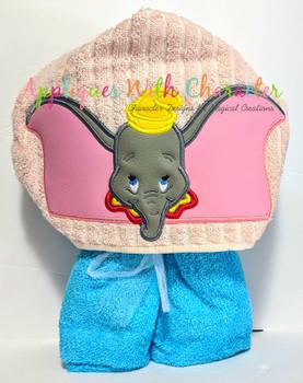 Dumbo Peeker Applique Design