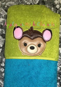 Bambie Deer Tsum Tsum Applique Design