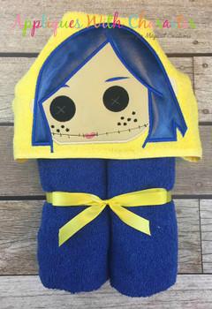 Cori Peeker Doll Applique Design