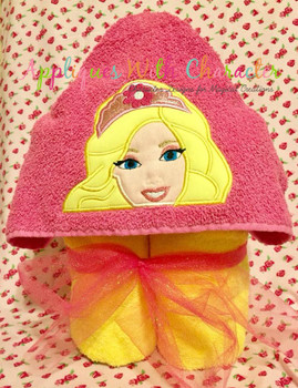 Fashion Doll Secret Door Peeker Applique Design