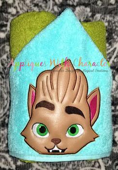 Monsters Lobo Werewolf Peeker Applique Design
