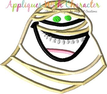 Transylvania Mummy Applique Design