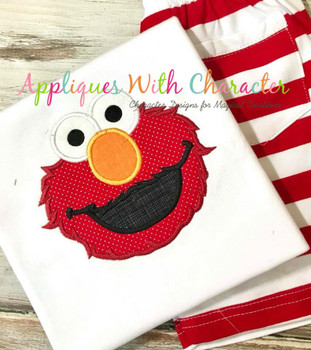 Elmo Applique Design