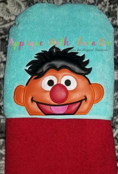 Ernie Peeker Applique Design