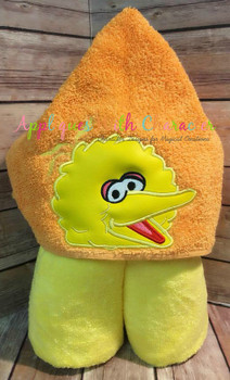 Big Bird Peeker Applique Design
