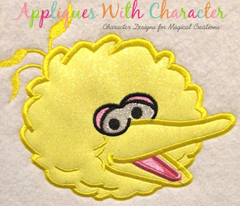Big Bird Applique Design