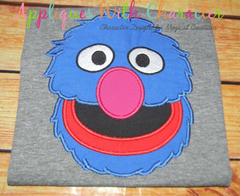 Grover Applique Design