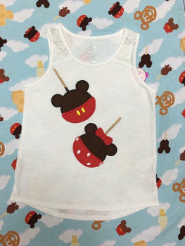 Miss Mouse Candy Apple Applique Design