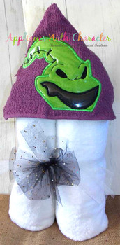 Nightmare Before Christmas Oogie Boogie Peeker Applique Design