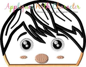 Coco Miguel Rivera Tsum Tsum Peeker Applique Design