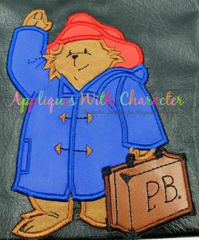 Paddy Bear Applique Design