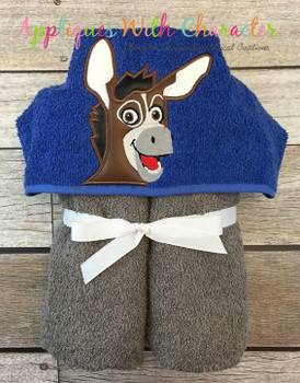Bo the Donkey Peeker Applique Design