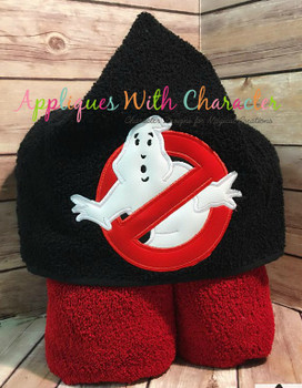 Ghost Symbol Applique Design