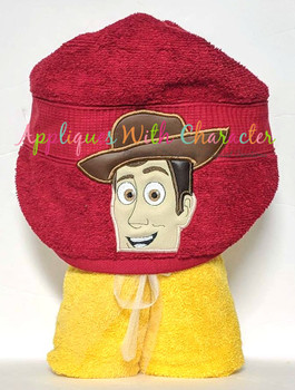 Toy Story Woody Peeker Applique Design