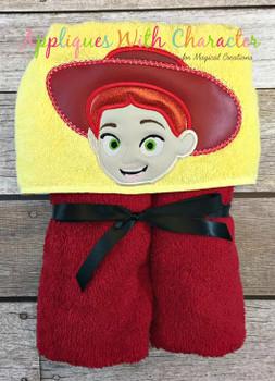 Toy Story Jessie Peeker Applique Design