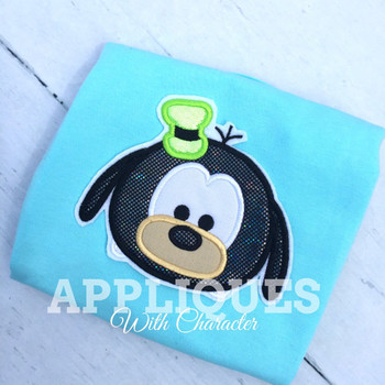 Goofie Tsum Tsum  Applique Design
