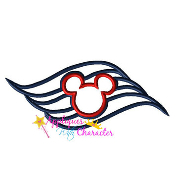 Cruise Logo Applique Design
